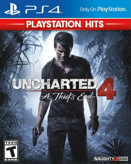 Uncharted 4 Ps4 Original Do*is