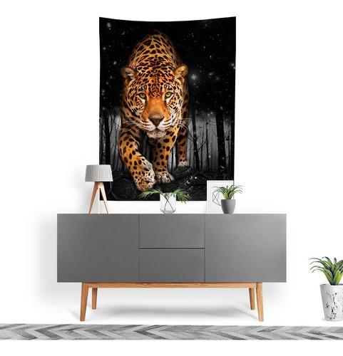 Imagem 1 de 3 de Tecido Decorativo Decoração Tactel Interto Externo Jungle