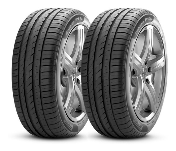Kit 2 Pneus Pirelli 225/45 R17 94w P1 Plus Cinturato Novos