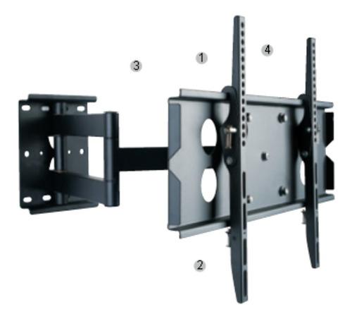 Rack Tv  De Pared Para 30 -50 Con Articulación Inst. Gratis