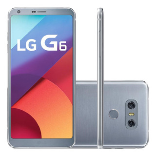 Lg G6 H870 32gb 4gb Ram Single Chip Câm 13mp Prata Vitrine 1