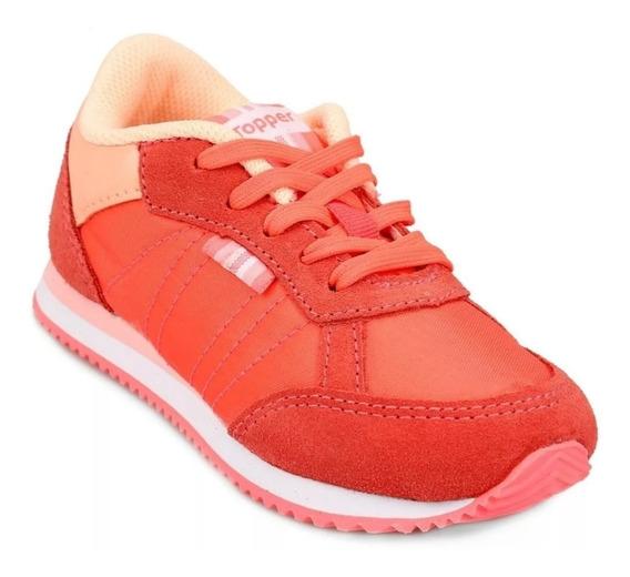 Zapatillas Topper Theo Color Coral