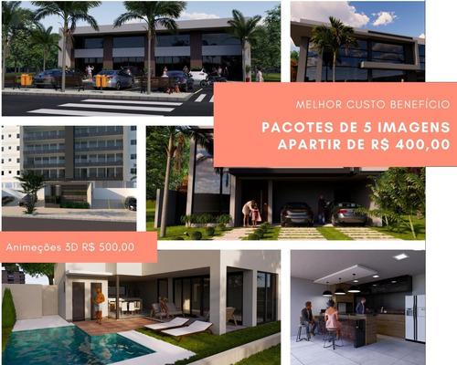 Imagem 1 de 9 de Modelagem 3d E Interiores - Comerciais , Residências