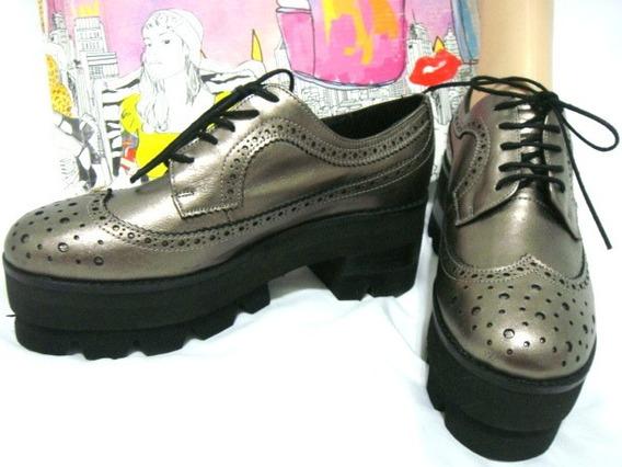 Jeffrey Campbell Zapatos 36,37,38,39,40 Cuero Gris (ana.mar)