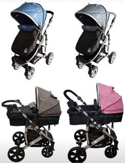 Coche Cuna Moises Spring Baby Kits Para Bebe Niña Y Niño