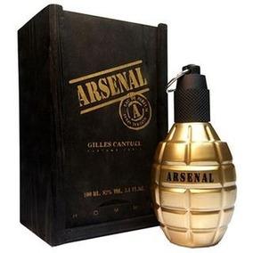 Perfume Arsenal Gold Edp 100ml Com Nota Fiscal E Selo Adipec