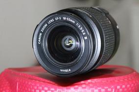 Lente Canon 18-55mm Esf