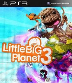 Littlebigplanet 3 Ps3 Play3 Littlebig Little Big Planet 3 Br