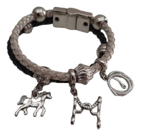 Pulseira Bracelete Infantil Boleadeira Freio Cavalo 46