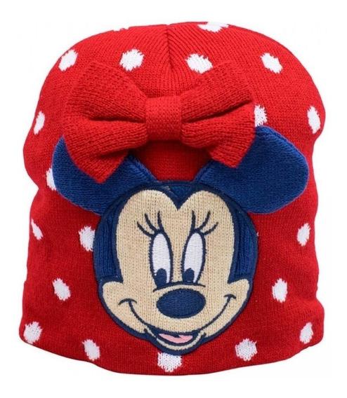 Touca Gorro Infantil Minnie Mouse Inverno Disney
