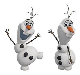 York Wallcoverings Rmk2372scs Roommates Olaf De Frozen La Ni
