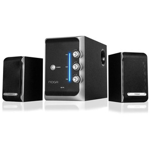 Home Theater 2.1 Noga S2176 50w Parlante Pc Tv Dvd Celulares