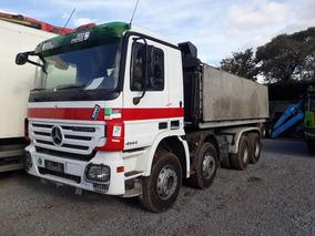 Camion Mercedes Benz 4141 Con Volcadora 8x4