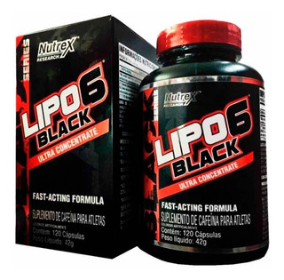 Lipo 6 Black Ultra Concentrado - 120 Capsulas - Nutrex