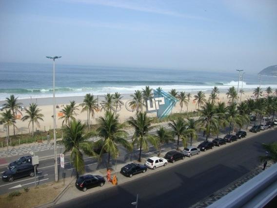 Ipanema. Espetacular Vista Panorâmica Da Praia De Ipanema. Comércio , Restaurantes E Metrô A 500mts. - 2510