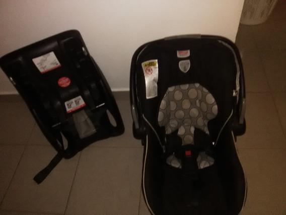 Porta Bebé Britax Con Adaptador De Carro