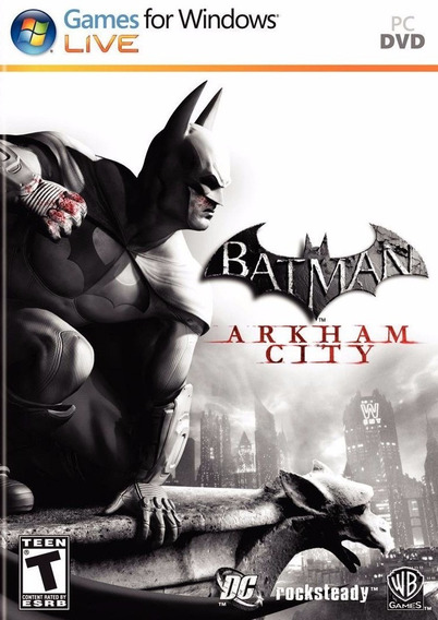 Batman Arkham City Goty Pc Original Frete Gratis !!