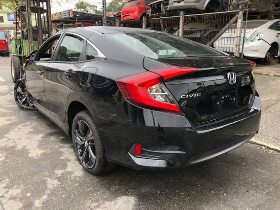 Sucata Honda Civic Touring Sport 2017 Retirada De Peças