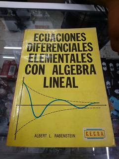 Libro / Ecuaciones Diferenciales Elementales / Usado