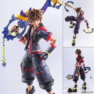 Sora Kingdom Hearts 3 Play Arts Bring Arts Figura De Sora Kh