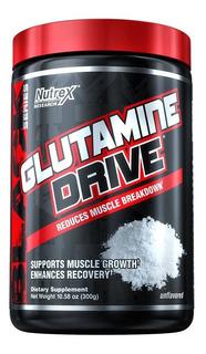 Glutamina Drive Nutrex 300g Importada