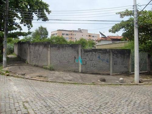 Terreno À Venda, 452 M² Por R$ 650.000 - Campo Grande - Rio De Janeiro/rj - Te0041