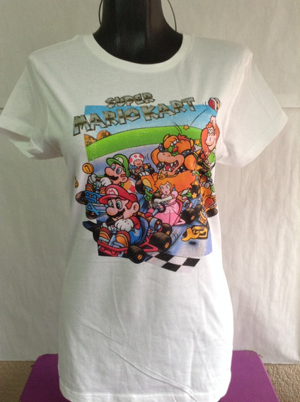Nintendo Super Mario Kart Playeras Hottopic