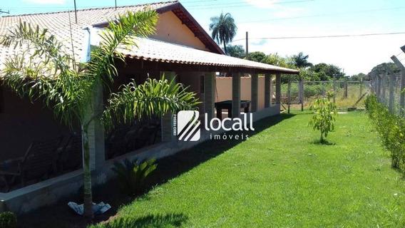 Chácara Com 3 Dormitórios À Venda, 1400 M² Por R$ 650.000 - Estância Monte Alto - Guapiaçu/sp - Ch0049