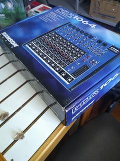 Mixer Samson Mdr1064, 10 Canales Excelente Estado. Sin Uso.