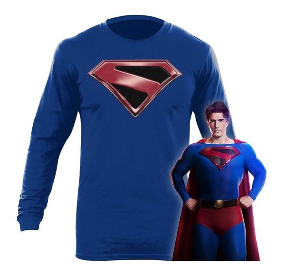 Playera Superman Crisis En Tierras Infinitas Arrowverse Dc M