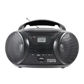 Rádio Britânia 3.4w Usb Fm Mp3 - Bs83 Preto