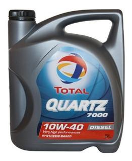 Aceite Total Quartz 7000 Nafta O Diesel