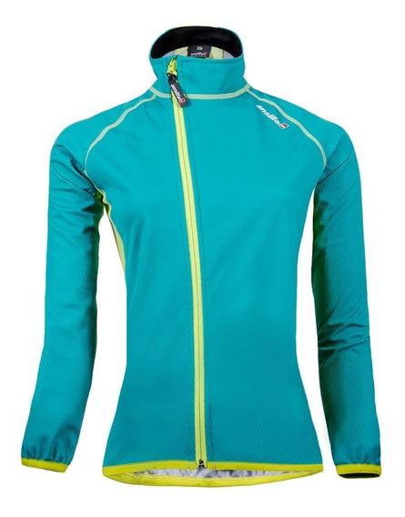 Campera Ciclon Para Ciclismo Ansilta Mujer Windstopper