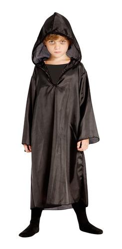 Disfraz Tunica Muerte Halloween Talle 1-2-3