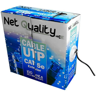 Rollo Cable Utp Exterior Categoria 5e 100 Metros 4 Pares