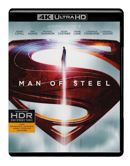 El Hombre De Acero Man Of Steel Pelicula 4k Ultra Hd