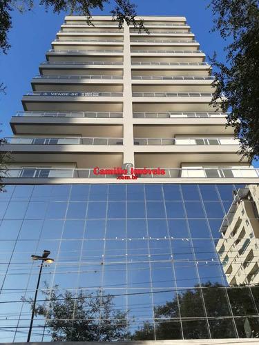 Imagem 1 de 15 de Apartamento Novo! Suíte + 02 - Centro - V659