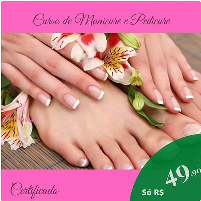Curso Profissional De Manicure E Pedicure Com Certificado.