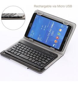 Capa Case 7 Universal C/ Teclado Bluetooth Tablet Google