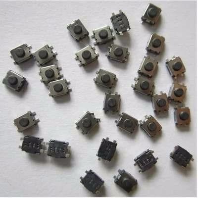 Micro Botão Tactil Para Placa Peujeot Citroen 3x4x2mm 10pçs
