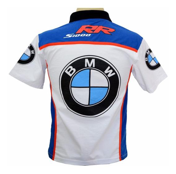 Camiseta Esportiva Gola Polo Moto Bmw Srr1000