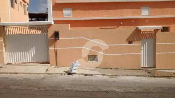 Excelente Casa De 1 Quarto, De 1ª Locação, No Mutuá, São Gonçalo - Ca1587