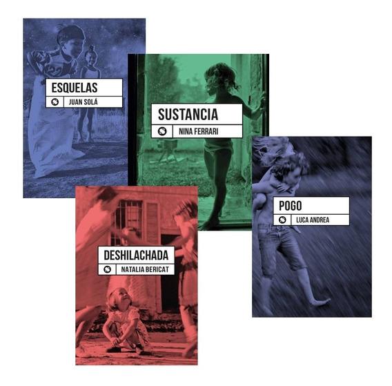 Pack Poesia - Juan Solá + N. Ferrari + N. Bericat + L Andrea
