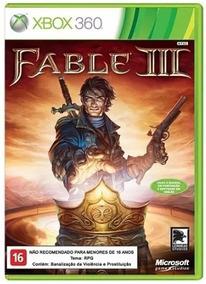 Fable 3 Xbox 360 Xbox One Original Frete R$12