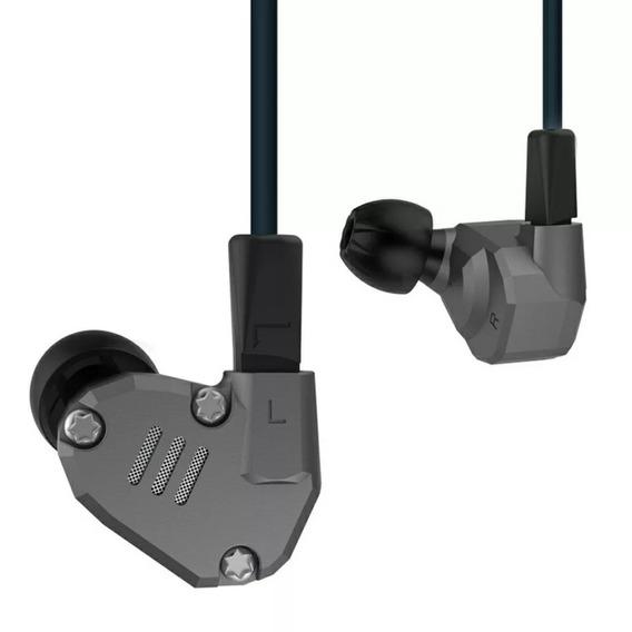 Kz Zs6 Sem Microfone + Case Brinde (ponto, Retorno De Palco)
