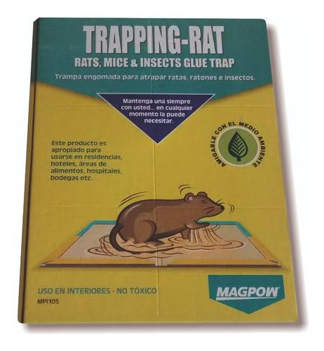 Trampa De Pegamento Rata Ratones T - Unidad a $6600