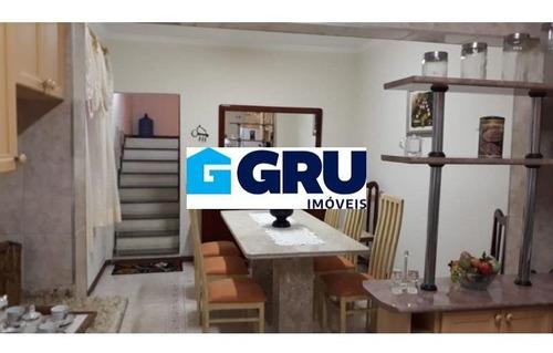 Sobrado Com 03 Dormitórios E 1 Suite À Venda Por R$ 418.000 - Parque Continental Ii - Guarulhos/sp - Sob148