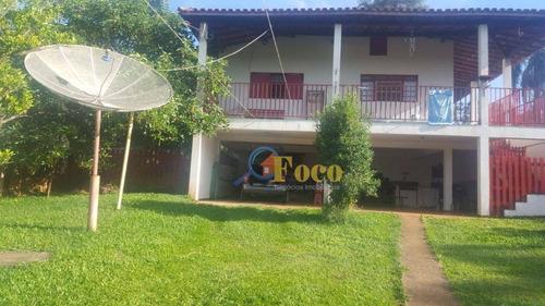 Chácara Com 3 Dormitórios À Venda, 1000 M² Por R$ 550.000,00 - Condomínio Parque São Gabriel - Itatiba/sp - Ch0061