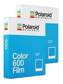 Filme Polaroid Originals 600 Color 2x Double Pack