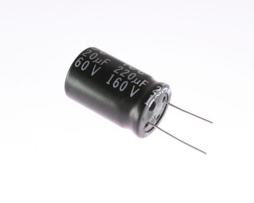 Capacitor Eletrolítico 220uf 160v Alta Qualidade